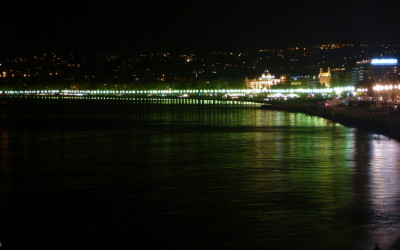 France - Nice at night