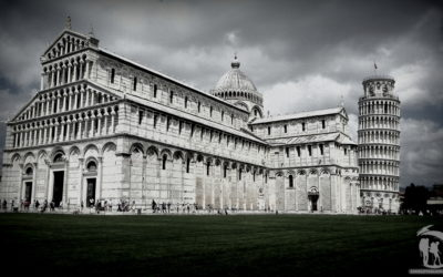 Italy - Pisa, cathedral and tower