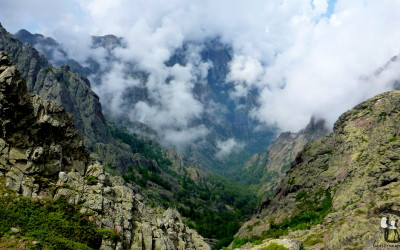 France, Corsica, GR20, view