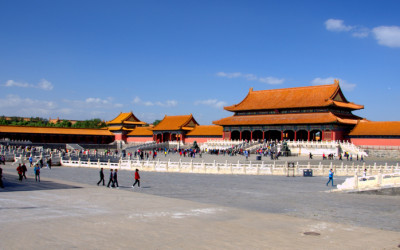 Beijing Forbidden City - panoramic view