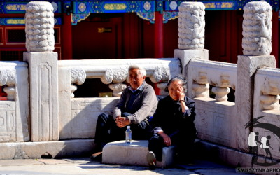 Beijing Forbidden City - people