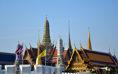 Thailand. Bangkok. Royal Palace