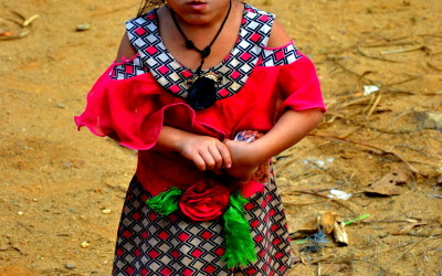 Laos. A little lady