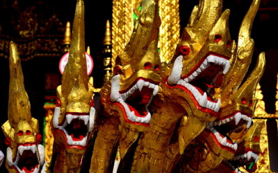 Laos. Dragons
