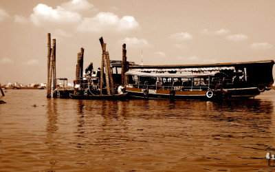 Vietnam. The Mekong Delta. The boat.